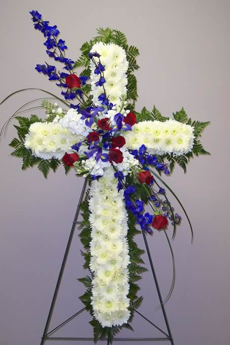 Red White Blue Floral - CDC Floral