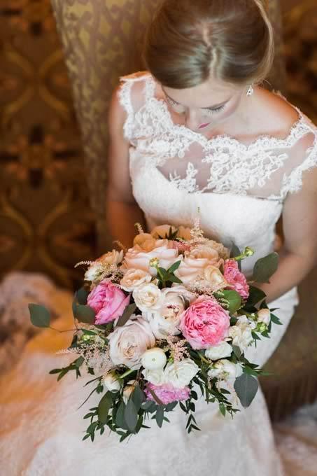 bridal bouquet - CDC Floral - Leah Langley Photography