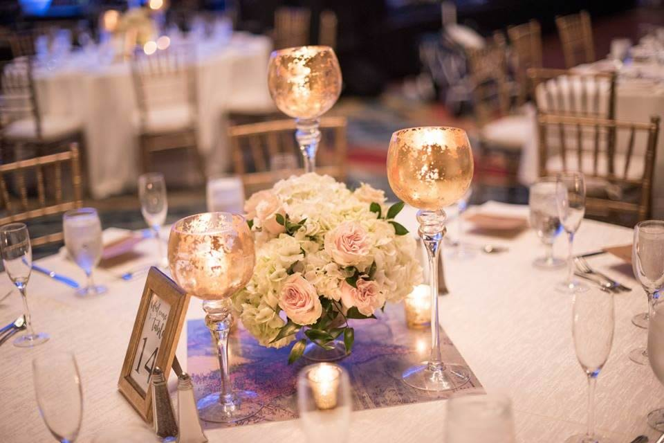 reception floral - CDC Floral - Kristina Houser Photography
